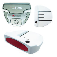 Integra Heater F-35 White Mallet Putter Red Insert *Choice Length, Grip Options*