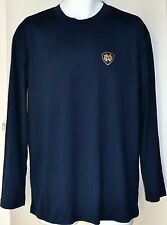 Notre Dame Adidas ClimaLite Training LS Tee Shirt - Men's Size Small - New!