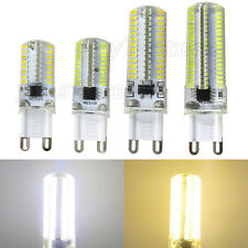 1x/10x G9 Dimmable LED Light Bulb 64/80/104/152 3014 SMD Silicone Lamp 120/220V