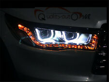 A Pair Headlights With LED DRL And Bi-Xenon Projector For Toyota Highlander 2015