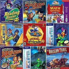 Age 9+ 5th FIFTH GRADE LEARNING GAMES Windows PC XP Vista 7 8 10 NEW Sealed
