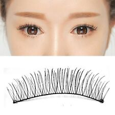 10 Pairs Makeup Natural False Eyelashes Handmade Eye Lashes Extension Fashion