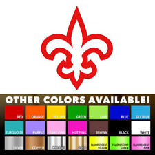 Fleur De Lis Art Window Decal Sticker for Vinyl Automobil Laptop Car Bumper Wall