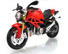 Maisto 1:12 Ducati Monster 696 Motorcycle Bike Model Red Black New