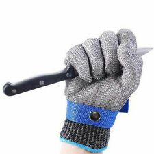 Safety Cut Proof Stab Resistant Stainless Steel Metal Mesh Butcher Glove 6 Sizes