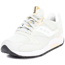 Saucony Grid 9000 Mens Trainers Light Grey New Shoes