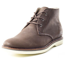 Lacoste Sherbrooke Hi 116 Mens Ankle Boots Dark Brown New Shoes