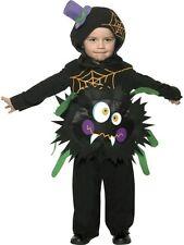 Toddler Crazy Spider Girls / Boys Halloween Book Week Fancy Dress Costume Outfit