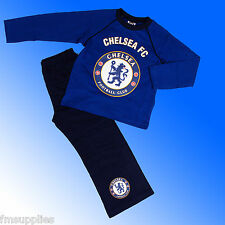 Boys Authentic Official Chelsea FC Pyjamas Age 4-12 Years #CFC