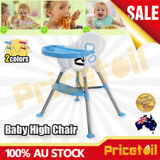 OZ Adjustable Baby Highchair Durable Child Eating Feeding Table Seat High Chair