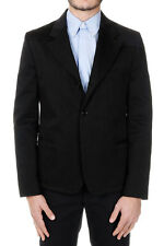 MARTIN MARGIELA MM10 Man Black Single Breasted Cotton Jacket Made in Italy