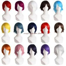 Short Wig Full Hair Wigs Cosplay Costume Party Fancy Dress Unisex For Man Women
