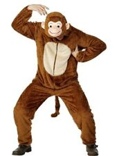 SALE! Adult Monkey Animal Ladies / Mens Fancy Dress Costume Party Outfit