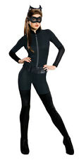 Womens Catwoman Catsuit Halloween Costume