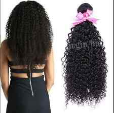 7A Brazilian Curly Hair 100g/Bundles Weave Weft and Wavy Human Hair Extensions