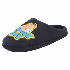 Mens Family Guy Peter Griffin Navy mule slippers