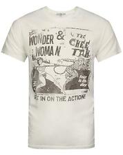Junk Food Wonder Woman Get In On The Action Mens T-Shirt