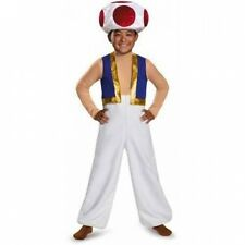 Super Mario Bros. Toad Deluxe Child Halloween Costume. Shipping Included