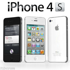 "Apple iPhone 4S A1387 Wifi GPS 16GB ""Factory Unlocked"" Black White Smartphone"