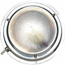 Seachoice Polished Stainless Steel Bright White Dome Light. Free Delivery