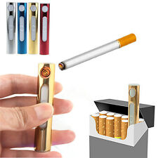 New Useful Mini USB Electronic Rechargeable Flameless Cigarette Lighter Portable