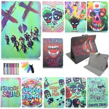 "9.7""10.1""universal tablet case Suicide squad Magnetic pu leather stand case"