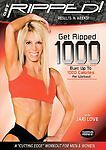 Get Ripped! with Jari Love: Get Ripped 1000 DVD VG Condition