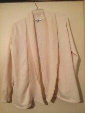 Liz Claiborne New York Open Front Cardigan Vanilla Assorted Sizes