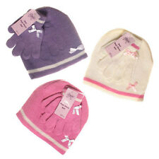 GIRLS HAT AND GLOVES SET 1-3 years WINTER HAT