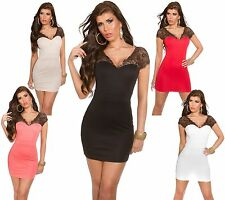 KouCla Mini Dress Lace Lace Dress Party Cocktail Dress Dress Bodysuit