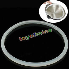 Replacement Silicone Rubber Clear Gasket Sealing Ring Home Pressure Cooker