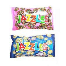 Chocolate Hannah's Jazzles Jazzies - Candy Buttons Sweets 40g (2, 4, 12 or 24)