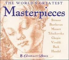 The World's Greatest Masterpieces (CD, 8 Discs, Madacy) Classical Music
