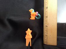 My Little Pony Petite Ponytail - Pizza Symbol - Orange w. Blue Tail - Set 1