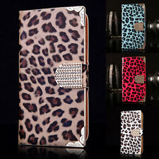 New Leopard Print Leather Diamond Case Cover for Samsung Galaxy S3 I9300/S3 Neo+