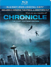Chronicle (Blu-ray/DVD, 2012, 2-Disc Set, The Lost Footage Edition; Includes Dig