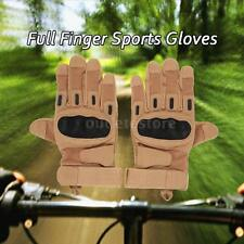 Hard Knuckle Tactical Gloves Full Finger Sport Shooting Hunting Riding New T9U0