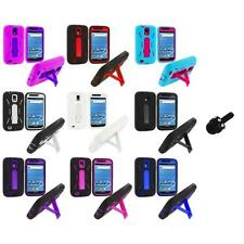 Hybrid Case Cover Stand+Mini Stylus for Samsung T-Mobile Galaxy S2 S II Hercules