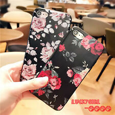 new creative flowers mobile phone cover fitted case fashion colorful phone skins