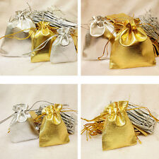10/20 Pcs Organza Wedding Party Favor Candy Bag Jewelry Packing Gift Bags