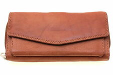Womens Organizer Wallet Clutch Removable Checkbook Cover Genuine Leather New