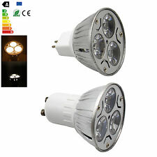 MR16 GU10 LED Spot Bulb Light Lamp 3W 85-265V/DC 12V Spotlight Epistar CREE Bulb