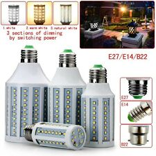 E27 E14 B22 10W 15W 20W 25W Energy Saving Dimmable Lamp LED Corn Light Bulb Lamp