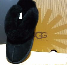 UGG AUSTRALIA WOMENS Suede Coquette Slip-On  Slippers black 5125