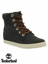 Womens Timberland Earthkeepers Glastenbury 6 Inch Boots Canvas Black NEW