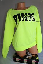 VICTORIAS SECRET PINK CREW SLOUCHY PULLOVER .SIZE SMALL MEDIUM
