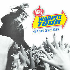 Warped Tour 2007 Compilation by Various Artists (CD, Jun-2007, 2 Discs, NEW
