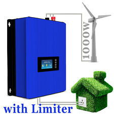 1000W Wind Power on Grid Tie Inverter with Limiter/Dump Load Resistor Connected