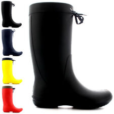 Womens Crocs Freesail Rain Winter Waterproof Rain Snow Wellington Boots UK 1-10