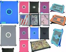 Defender Shock Absorbing Protection Case For iPad 2/3/4 (Fits Otterbox) NEW